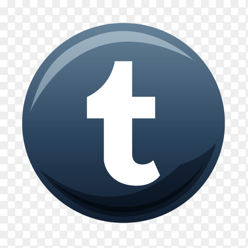 Tumblr icon logo Clipart PNG