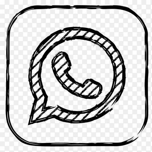 Whatsapp new style vector PNG