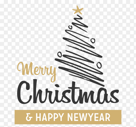 Christmas tree Icon on transparent PNG