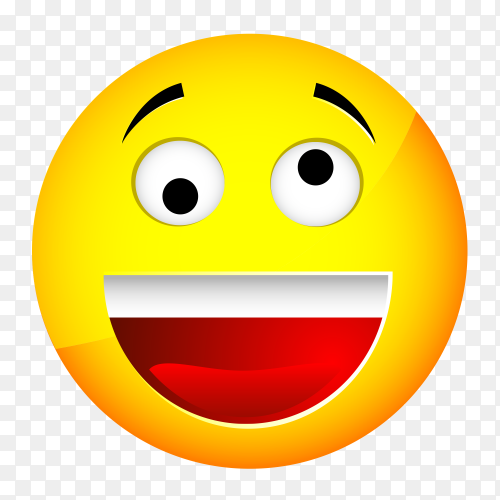 face with open mouth vector PNG
