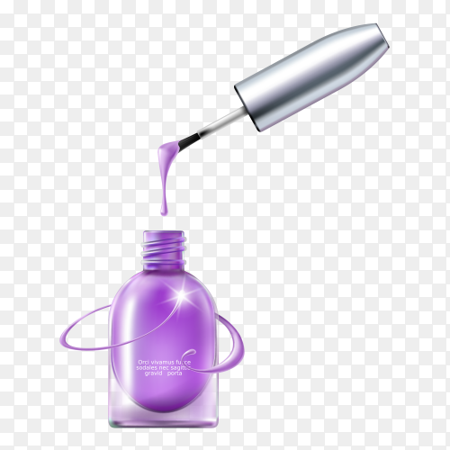 3D elegant cosmetic products oil spray for skin care products Clipart PNG