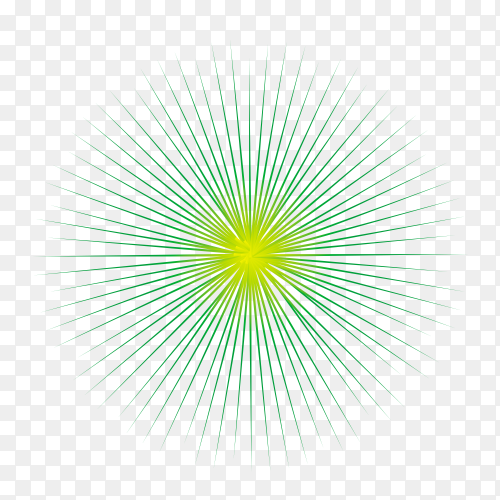 Abstract fireworks vector PNG
