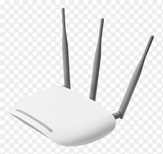 Access point device isolated on transparent PNG