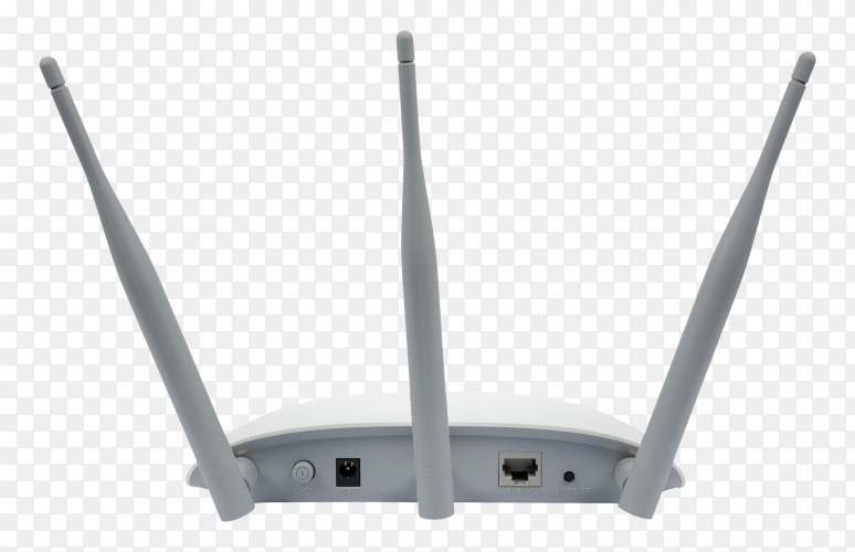 Access point device on transparent background PNG