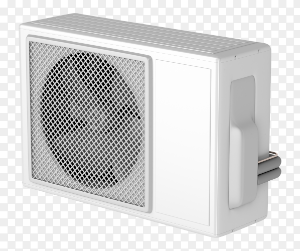 Air Conditioner for home and office illustration on transparent background PNG