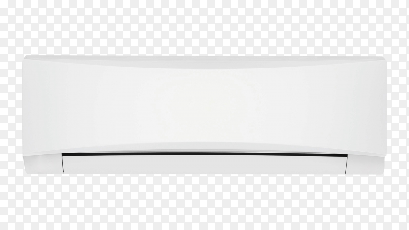 Air conditioner isolated on transparent PNG