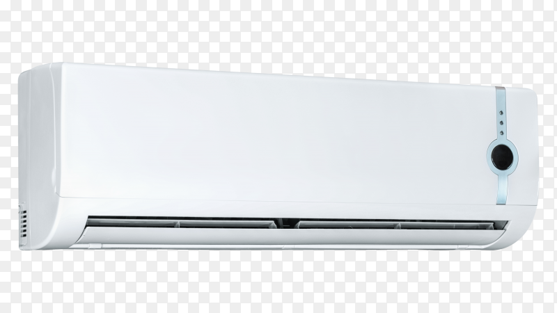 Air conditioner system on transparent background PNG