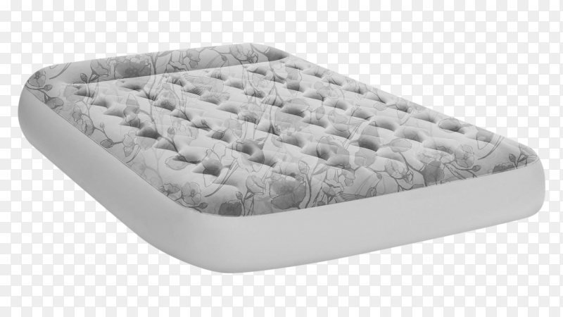Air mattress isolated on transparent background PNG