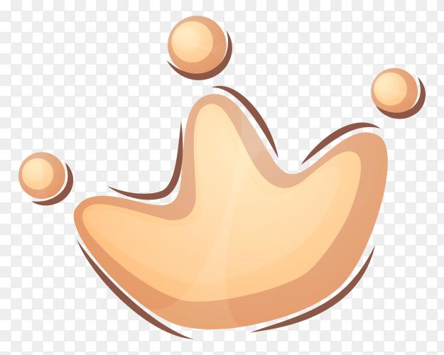 Cartoon crown vector PNG
