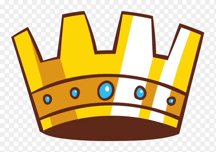 Cartoon Illustration Of Crown Icon Vector Png Similar Png Crown princess gold, crown, love, text, heart png. crown icon vector png