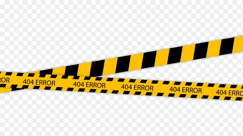 Caution tape Premium vector PNG