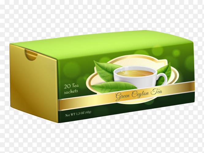 Ceylon tea on transparent PNG