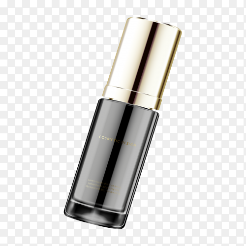 Cosmetic Product ad Clipart PNG