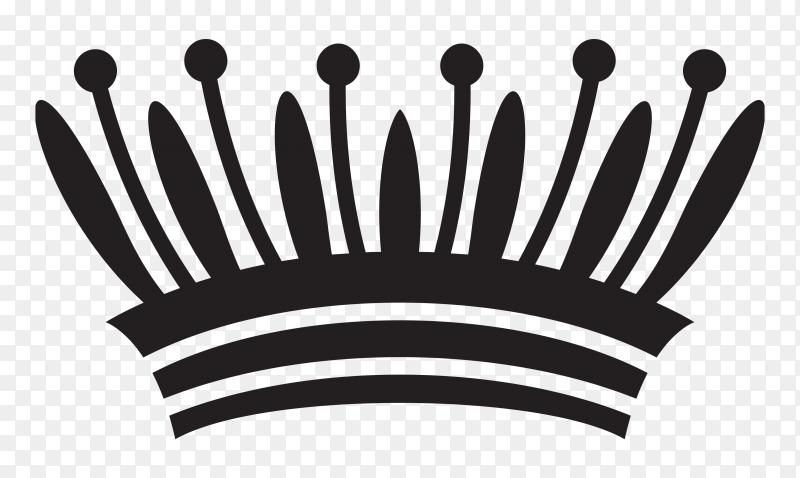 Crown Cartoon design  vector PNG