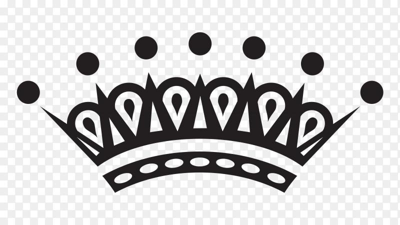Crown icon Premium vector PNG