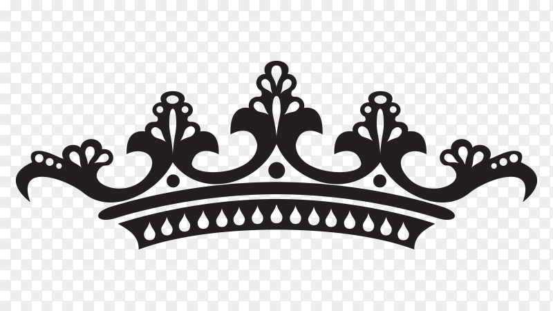 Crown icon vector PNG