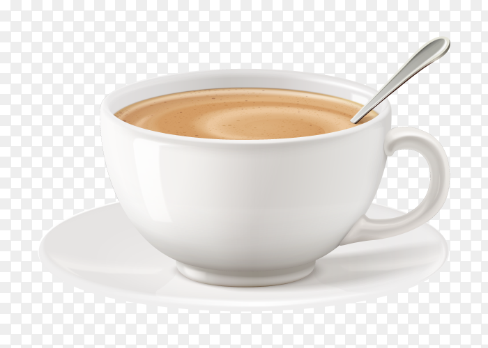 Cup of milk tea Clipart PNG