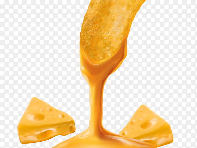 Delicious yellow cheese clipart PNG