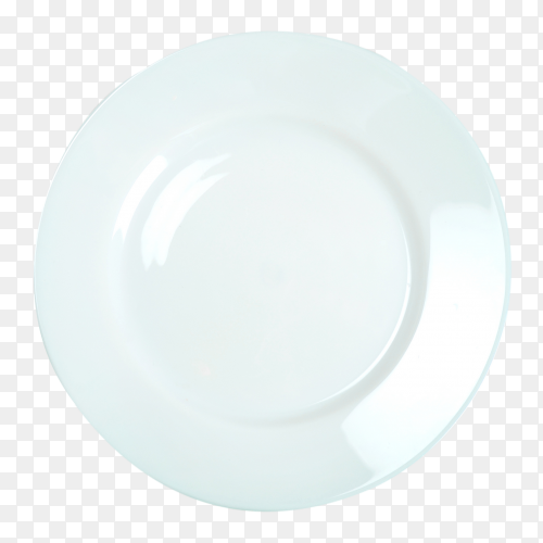 Empty dinner plate Premium Image PNG