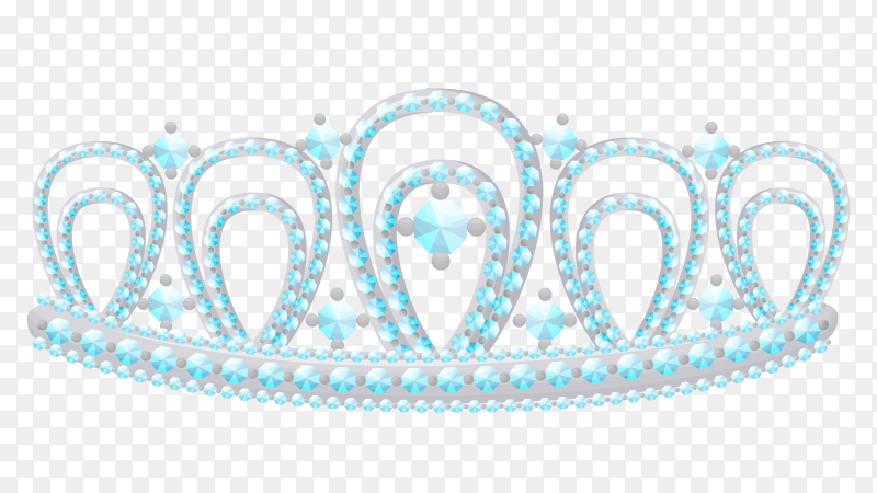 Greeting crown on transparent background PNG
