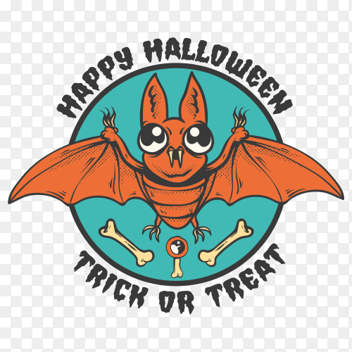 Happy halloween design Clipart PNG