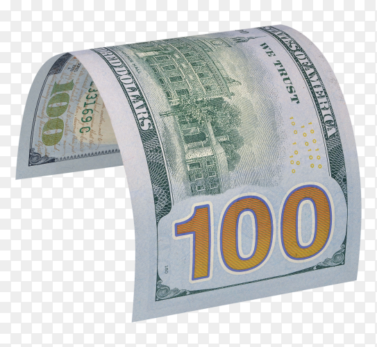 Hundred dollar bills Premium image PNG