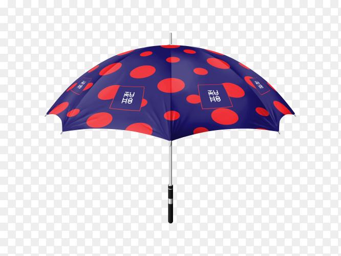 Illustration of an umbrella Premium vector PNG
