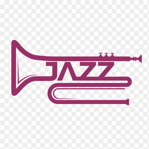 Jazz icon design on transparent background PNG