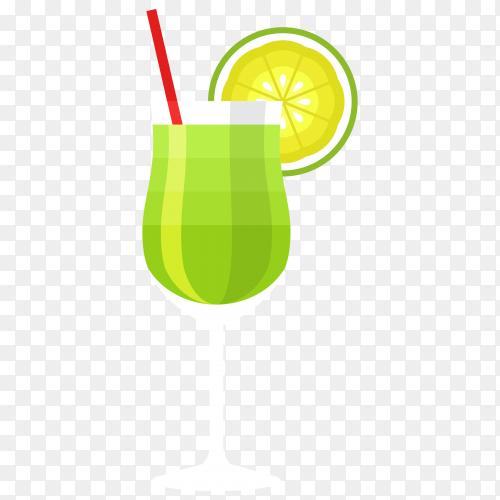 Lemon juice vector PNG