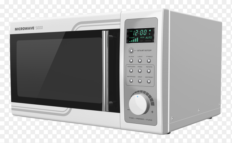 Microwave oven icon on transparent background PNG