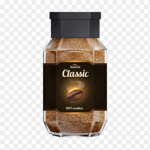 Natural Classic coffee Clipart PNG