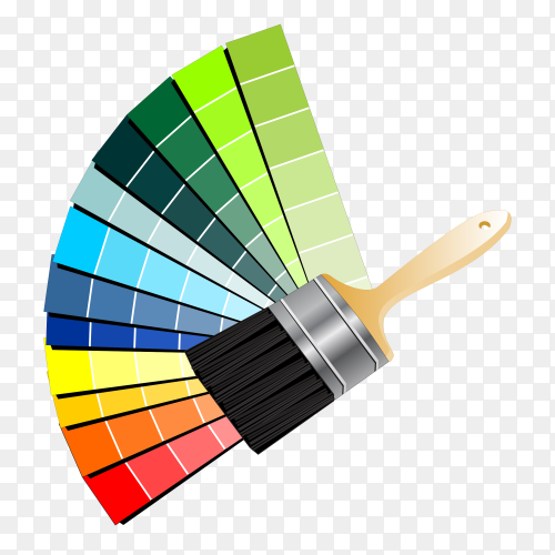 Paintbruch Bucket color Clipart PNG