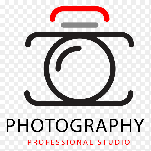 Photography logo design Premium vector PNG