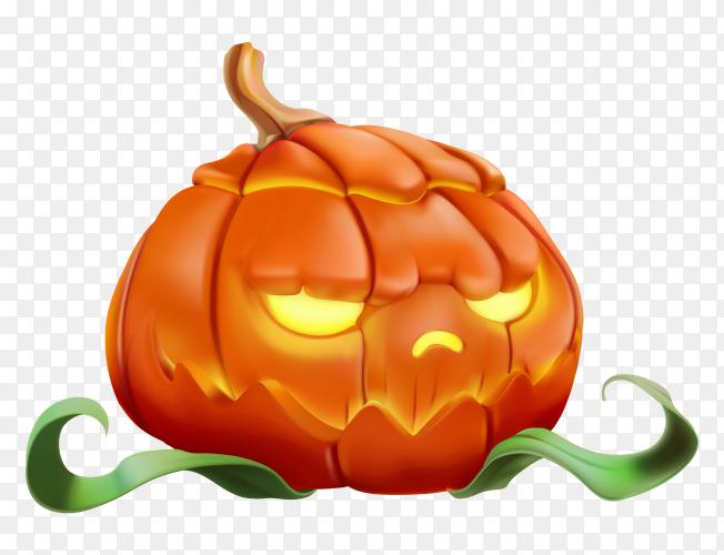 Pumpkin Halloween vector PNG