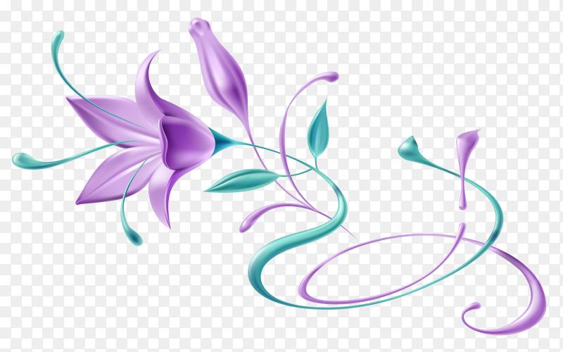 Purple flower Clipart PNG