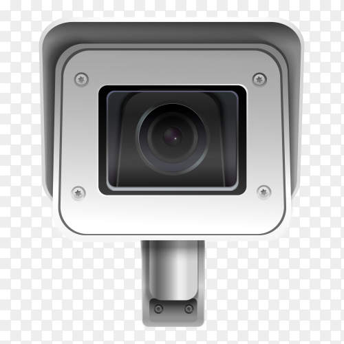 Security camera transparent PNG