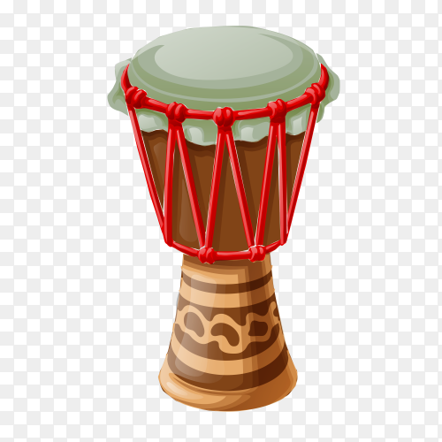 Sketched percussion on transparent background PNG