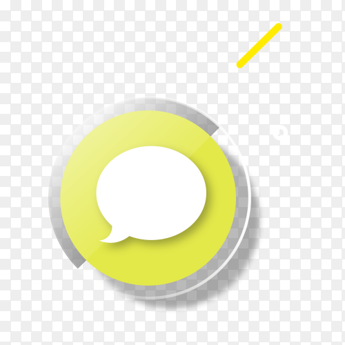Social media iMessage logo  vector PNG