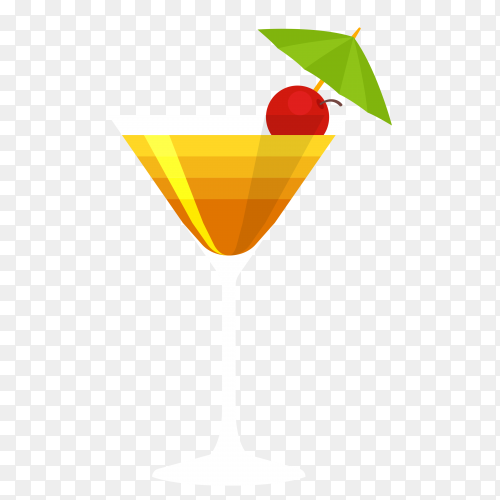 Summer juice Clipart PNG