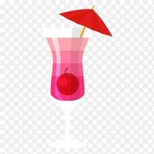 Summer juice vector PNG