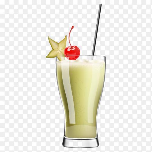 Summer sweet Juice  vector PNG
