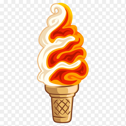 Sweet ice cream Clipart PNG