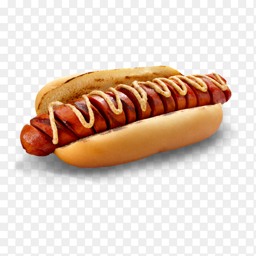 Tasty hot dog sandwitch Clipart PNG