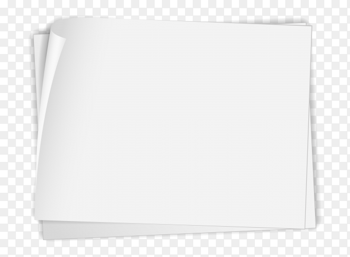 White paper on transparent PNG