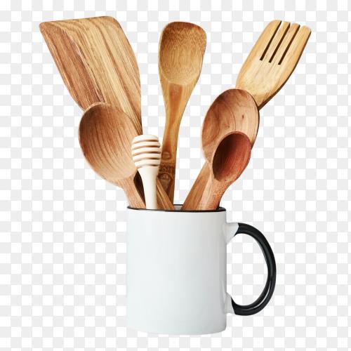 Wooden Kitchen utensil Clipart PNG