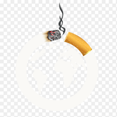 World no tobacco day on transparent PNG