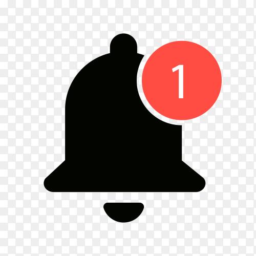 Youtube notification bells Unread Clipart PNG