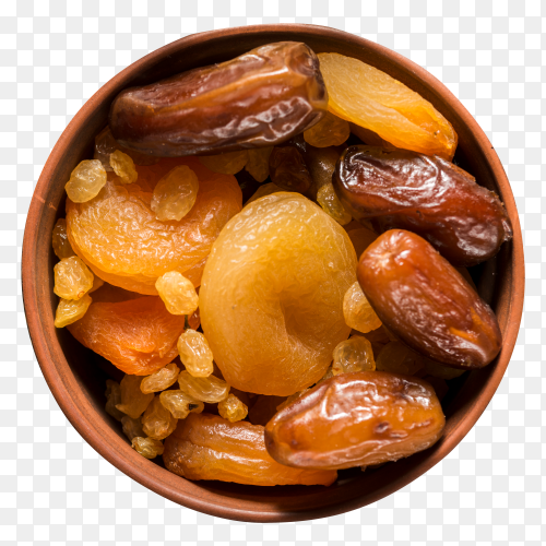 compote arabic food for ramadan on transparent background PNG