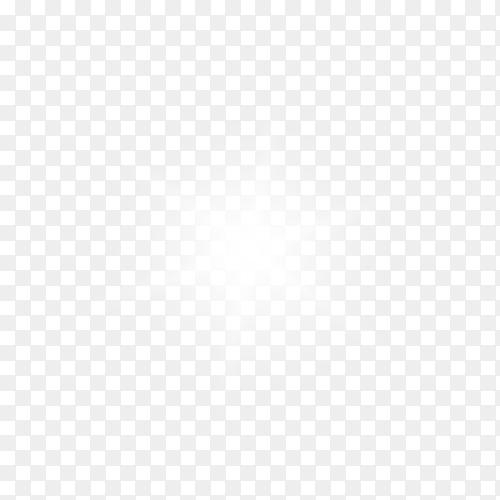 light effect stars  on transparent PNG