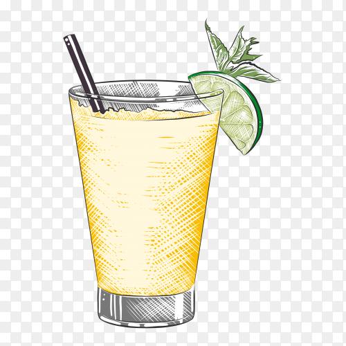 organic juice on transparent background PNG